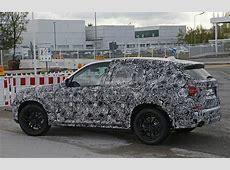 2017 BMW X3 G01 Spy Shots Reveal Interior and Headlight