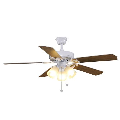 hton bay yg268 wh brookhurst 52 in white ceiling fan