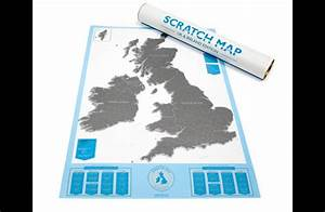 A World Map That Lets You Scratch Off Where You've Been ...