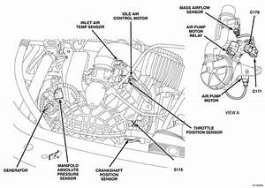 I Need A Picture Or Diagram Of Exactly Where The Iat Sensor Is On A 2005 Dodge Stratus Sxt 4dr Sedan
