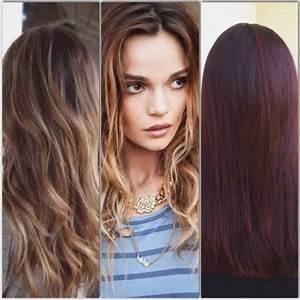 Couleur Cheveux Tendance : tendance couleur cheveux hiver 2019 ~ Nature-et-papiers.com Idées de Décoration