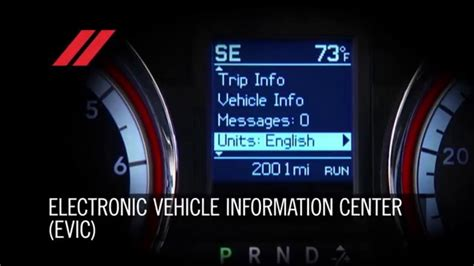 dodge grand caravan electronic vehicle information