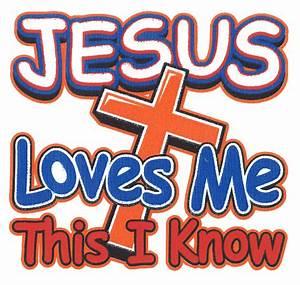Jesus Loves Me Cross T-shirt KTSJLOV - CLOTHING
