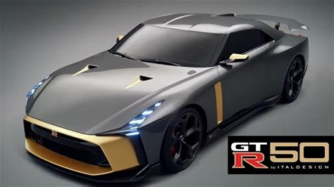 2019 Nissan Gt-r 50 By Italdesign