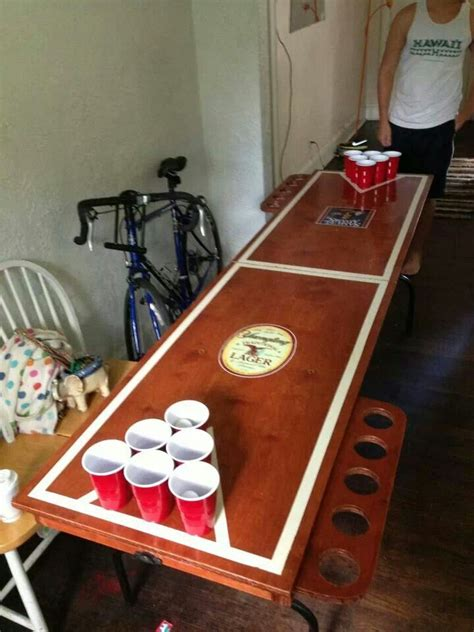 folding wooden beer pong table beer pong tables beer