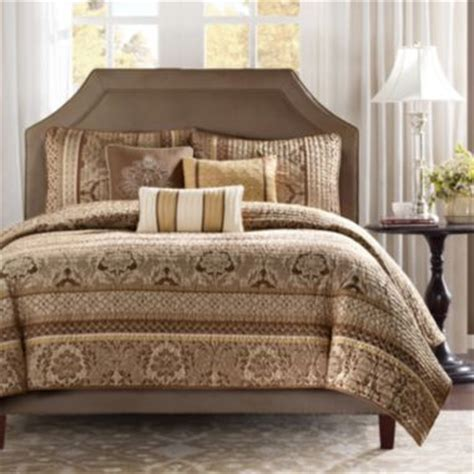 jc penneys bedding brown quilted comforter set at jc penney home is where