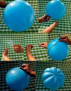 Lampe Aus Pappmache : k rbis basteln aus luftballon lampe pinterest decoraciones de casa leer y decoraci n ~ Markanthonyermac.com Haus und Dekorationen