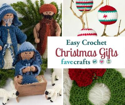 free crochet patterns easy christmas gifts 34 easy crochet gifts favecrafts