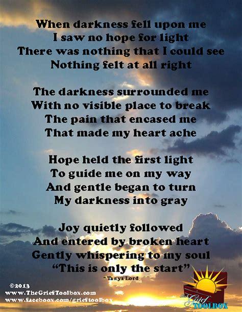 joy enters  broken heart  poem  grief toolbox