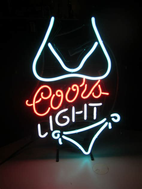 Coors Lighted Sign Shop Collectibles Online Daily