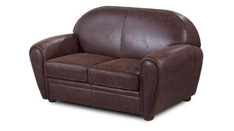 canapé d angle imitation cuir canapé vintage 2 places en microfibre imitation cuir