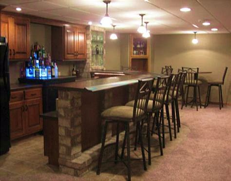 Custom Home Bars by Custom Bars Distinctive Cabinets Of Green Bay