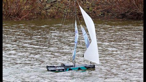big fun heavy wind gennaker sailing   radio