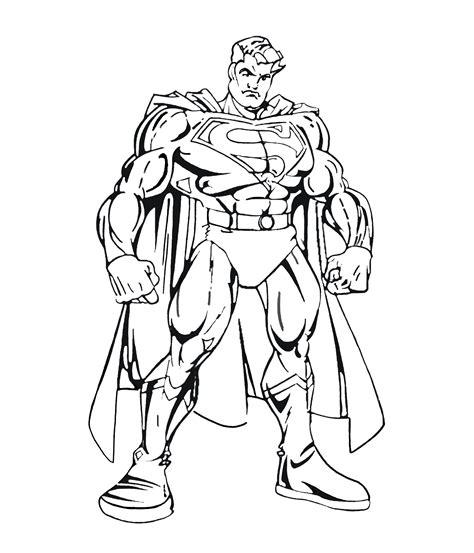 superman  color  children superman kids coloring pages
