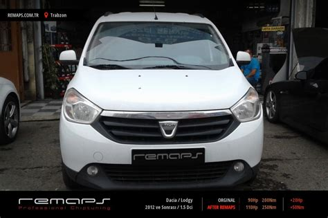 dacia lodgy tuning dacia lodgy 2012 ve sonrası 1 5 dci chip tuning