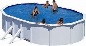 Pool 120 Tief : stahlwandbecken set achteck oval wei 120cm tief ovalbecken set pool schwimmbecken ~ One.caynefoto.club Haus und Dekorationen