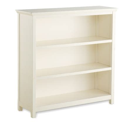 40 Inch Wide Bookshelf by Cameron 3 Shelf Bookcase Pottery Barn