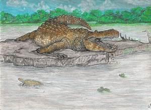 Purussaurus, giant Miocene caiman (2006). by jwmorenob on ...