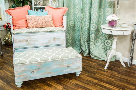 DIY Refurbished Dresser Chair Set | Home & Family