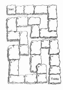 printable snakes and ladders template - board games blank board could be good for a review game