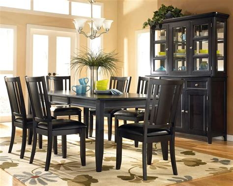 black dining room table dining room furniture with various designs available