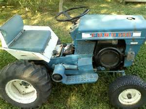 Old Ford Lawn Tractors