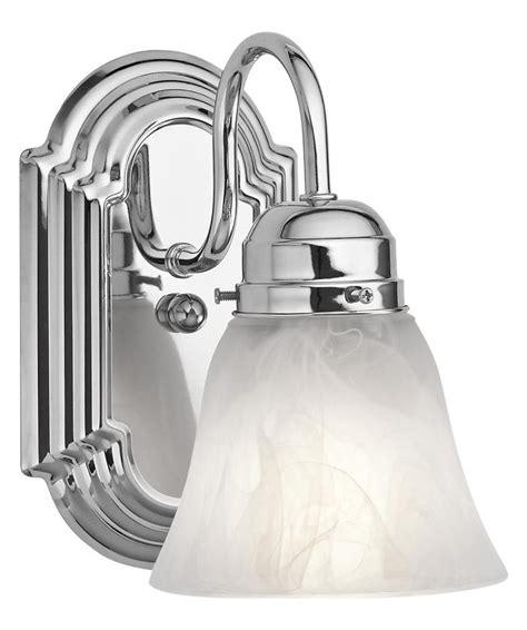 kichler  light chrome bathroom sconce chrome ch