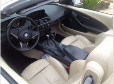 Purchase used 2005 White BMW 645CI Convertible with Cream