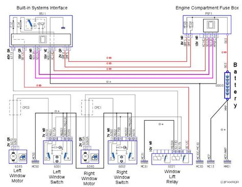 peugeot 306 ignition switch wiring diagram wiring