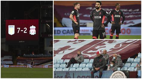 Liverpool embarrassed in 7-2 loss to Aston Villa in ...
