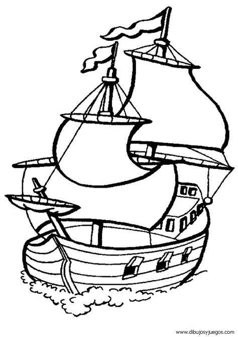 Velas De Barcos Para Colorear by Dibujo De Barcos Con Velas Para Colorear 009 Dibujos Y