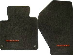 special price genuine oem honda s2000 carpet floor mats set of 2 black with letters 2002