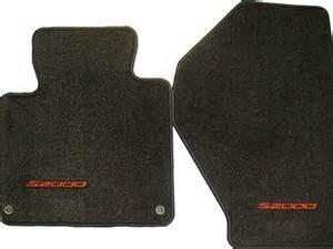 special price genuine oem honda s2000 carpet floor mats set of 2 black with letters 2002