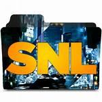 Icon Saturday Night Folder Designbust