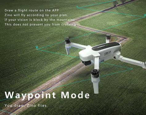 hubsan zino hs  folding drone technokapgr drones montelismos gadgets