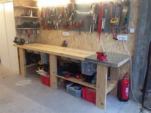 Construire Un établi En Bois : fabriquer son etabli d atelier bande transporteuse ~ Premium-room.com Idées de Décoration