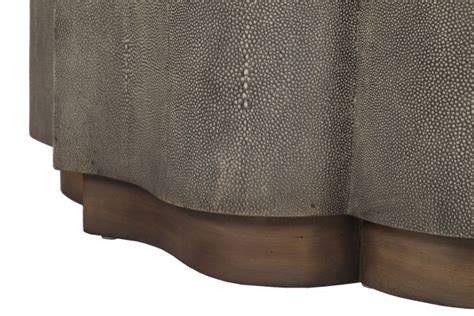 shagreen transitional coffee table sutton coffee table