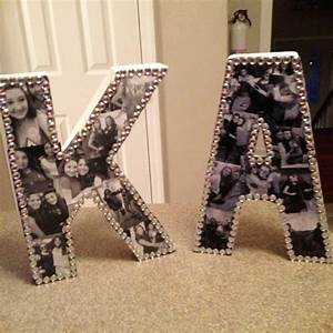 Diy, Picture, Collage, Letters, Ideas, -, We, Tried, It, Let, U0026, 39, S, Make, A, Photo, Collage, On, Wood