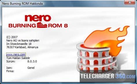 telecharger gratuit nero burning 8 logiciel