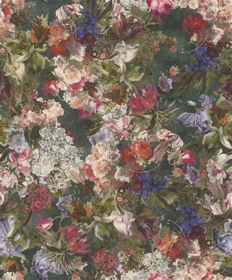 Rasch Tapete Blumen by Tapete Vlies Blumen Gr 252 N Bunt Rasch Passepartout 605662
