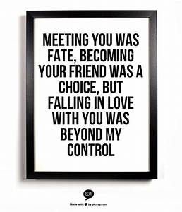 HD Exclusive Meeting You Was Fate Quotes
