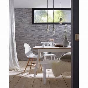 Mur En Pierre Interieur Leroy Merlin : plaquette de parement pierre naturelle gris cottage ~ Dailycaller-alerts.com Idées de Décoration