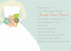 bridal shower invitation templates bridal shower With wedding showers invitations