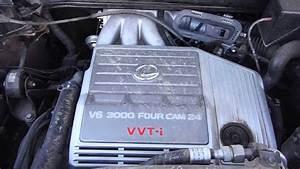 1999-2003 Lexus Rx300 3 0l Awd Engine Running - 14i016
