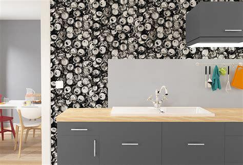 papier peint 4 murs cuisine choisir revêtement mural pour la cuisine nos conseils