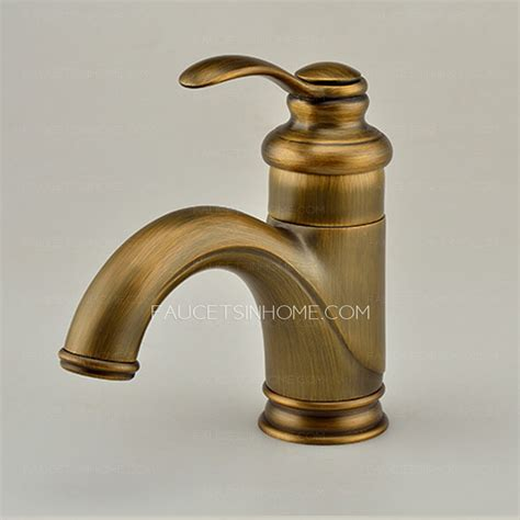 polished brass kitchen faucet antique polished brass one bathroom sink faucet