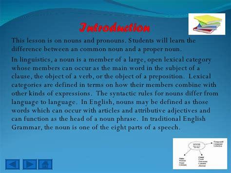 common  proper nounse
