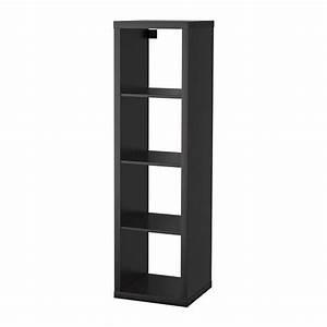 KALLAX Shelf Unit Black Brown IKEA