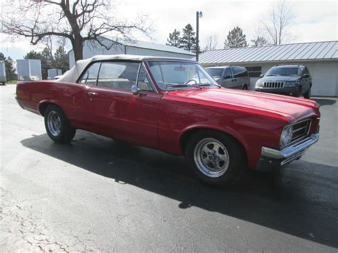 1964 Gto Specifications by 1964 64 Pontiac Tempest Convertible Gto Badges With