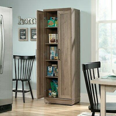 storage cabinet kitchen food pantry wooden home office